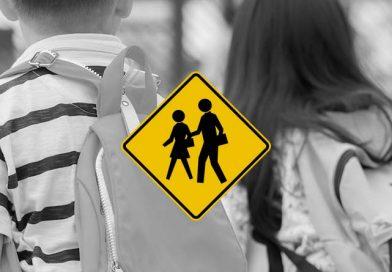 Velocidad máxima en zonas escolares